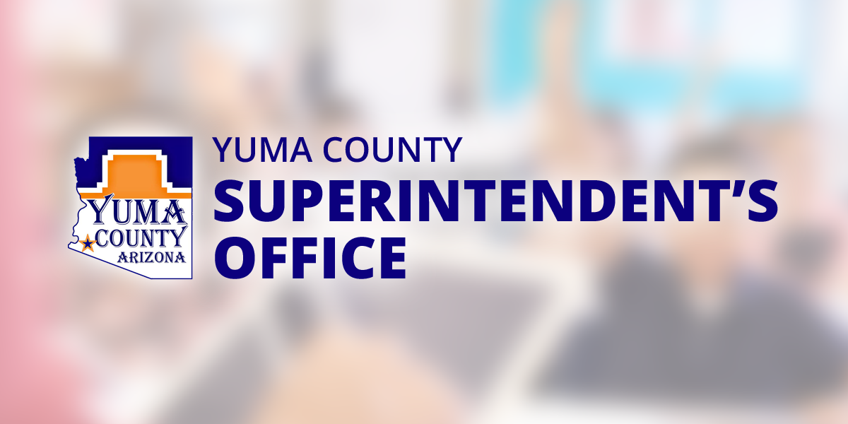 Frequently Asked Questions Yuma County Superintendents Office